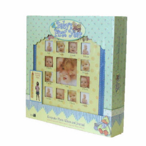 Baby's First Year Keepsake Album and Journal